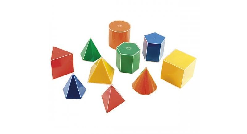 Изложба Коледни играчки от геометрични тела