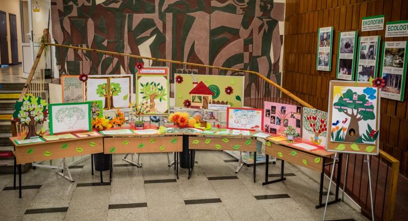 """Изложба """"Родословно дърво"""" на II г клас"""